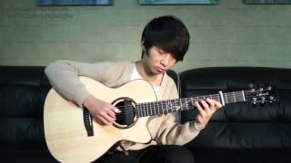 Howl's Moving Castle Theme   Sungha Jung Acoustic Tabs Guitar Pro 6