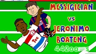 getlinkyoutube.com-💫Lionel Messi vs Jerome Boateng CONSPIRACY💫(Fall Goal Barcelona Bayern Munich 3-0 2015 Parody)