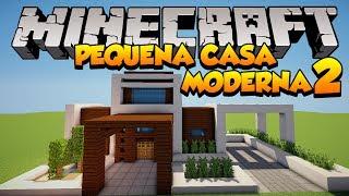 getlinkyoutube.com-Minecraft: Construindo uma pequena Casa Moderna 2