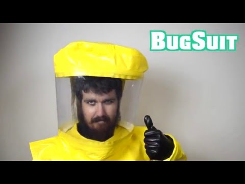 Introducing BUGSUIT, the 100% Bed Bug Proof Suit