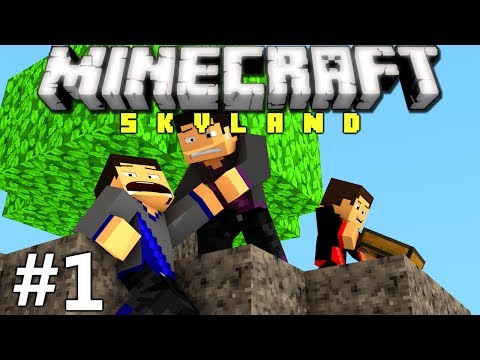 Minecraft: Skyland Ep. 1 - Back to the Old Days!