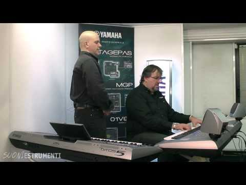 Yamaha Tyros 5 - Backstage Official Italian Demo Part 1: Organ World!