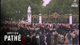 getlinkyoutube.com-Shah Of Persia's Coronation + State Opening Of Parliament (1967)