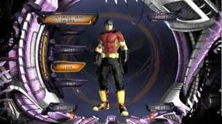 DC Universe Online Arkham City Robin character creation(HD)