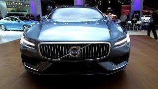 getlinkyoutube.com-2015 Volvo Coupe Concept - Exterior and Interior Walkaround - 2013 Frankfurt Motor Show