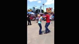 getlinkyoutube.com-Zydeco Dancing at Breaux Bridge Crawfish Festival (2014) Part 1
