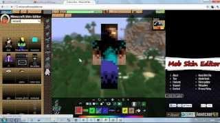getlinkyoutube.com-วิธีเปลี่ยนสกิล minecraft