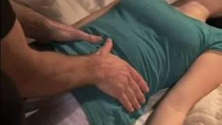 How to Do Hara & Leg Shiatsu Massages : How to Do Upper Hara Shiatsu Massage
