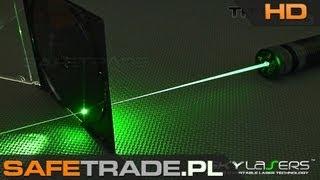 getlinkyoutube.com-[SKY-04] SkyLasers TITAN 3.0 532nm 300mW Powerful Green Laser Pointer Review Burning Test Extended