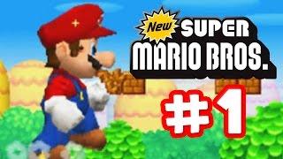 getlinkyoutube.com-New Super Mario Bros. DS - Part 1 - It's A Me Mario!