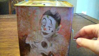 getlinkyoutube.com-EVIL, CREEPY, SCARY, HAUNTED CLOWN JACK IN THE BOX TOY THAT I GOT FOR HALLOWEEN!!!