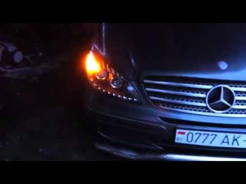 W639 LED headlights тюнинг для Vito W639