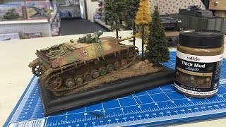getlinkyoutube.com-Building the Ambush Diorama using the new weathering and Diorama Effects from Vallejo