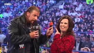 getlinkyoutube.com-Triple H Interrupts Vickie Guerrero
