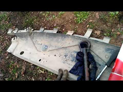 Лагуна 2 ф 1 снял бампер и осмотр состояния