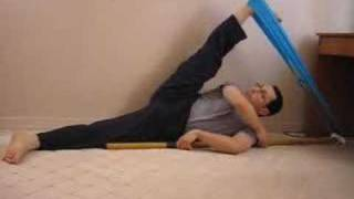 getlinkyoutube.com-KARATE STRETCHING and FLEXIBILITY EXERCISES for Front and Side splits High kicks
