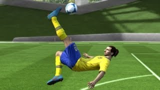 getlinkyoutube.com-FIFA 14/13 | Ibrahimovic Overhead Bicycle Kick Tutorial