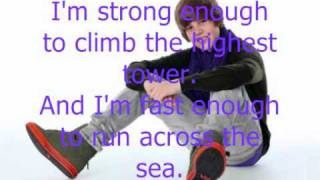 getlinkyoutube.com-Justin Bieber ft Jaden Smith Never say never Lyrics