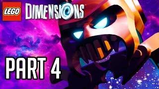 getlinkyoutube.com-LEGO Dimensions Walkthrough Part 4 - LORD VORTECH!! (Gameplay PS4/XB1/Wii U 1080p HD)