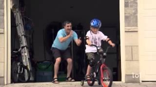 Prima plimbare cu bicicleta