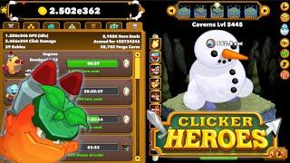 Clicker Heroes - Level 5000+ Deep Run, Max Level Relics, and Insane Mercenary Rewards!