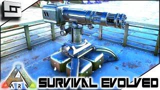 getlinkyoutube.com-ARK: Survival Evolved - AUTO TURRETS! S2E63 ( Gameplay )