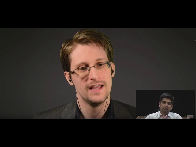 Edward Snowden über Deutschland & Donald Trump