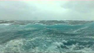 getlinkyoutube.com-Rough seas on the Carnival Pride, Nov 5th 2011. Ocean view cabin turns into submarine view!