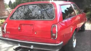 1978 CHEVY MONZA STATION WAGON Factory V8 Like Vega