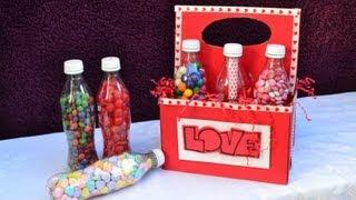 getlinkyoutube.com-Botellas con dulces, el regalo perfecto para tu novio/a
