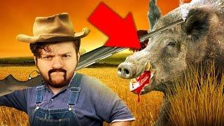 getlinkyoutube.com-SKY HUNTS WILD GAME! | Blood and Bacon