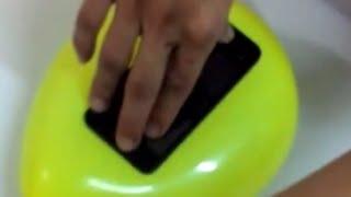 getlinkyoutube.com-Bir Balon Fiyatına   Telefon Kılıfı Yapımı