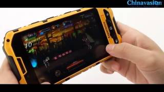 getlinkyoutube.com-WaterProof + GPS and Military Standard Rugged Android 4.1 Smartphone
