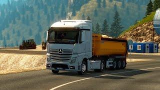 Euro Truck Simulator 2 Actros 1845  İle Harfiyat