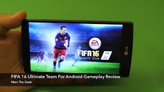 getlinkyoutube.com-FIFA 16 Ultimate Team for Android Gameplay Review