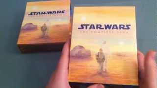 getlinkyoutube.com-STAR WARS BluRay Box Unboxing deutsch | TaranKino The Complete Saga