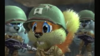 getlinkyoutube.com-Conker: Live and Reloaded - D-Day Parody