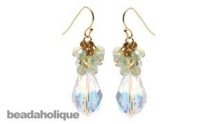 getlinkyoutube.com-Instructions for Making the Crystal Decadence Earring Kit
