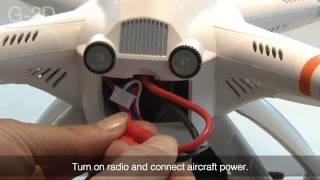 getlinkyoutube.com-Quick Start Guideline WALKERA QR X350 PRO GPS 6CH Brushless Quadcopter