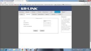getlinkyoutube.com-شرح راوتر LB-LINK تغير اليوزر والباسوررد