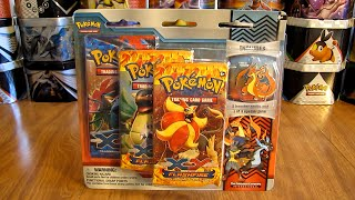 getlinkyoutube.com-Mega Charizard Y Pin Blister Pack Opening (Great Pull!)