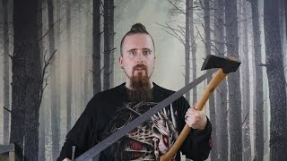 getlinkyoutube.com-Geek talk: Could a woodsman beat a swordsman (historical or fantasy scenario)?