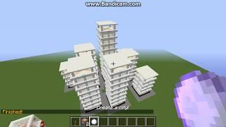 getlinkyoutube.com-Minecraft tutorial how to make a city with ONE command block!
