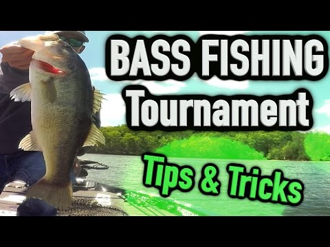 Bass Fishing Tournament ~ Big Bass & Tips and Tricks ! (Commentating Fishing)