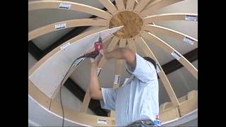 getlinkyoutube.com-How to Drywall a Dome Ceiling with Archways & Ceilings Made Easy