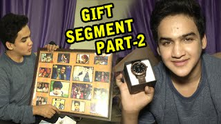 getlinkyoutube.com-Faisal Khan Overwhelmed By Gifts From Fans On His Birthday - PART 2