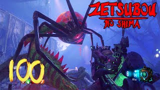 """getlinkyoutube.com-BLACK OPS 3 ZOMBIES """"ZETSUBOU NO SHIMA"""" ROUND 100 HIGH ROUNDS + EASTER EGG ATTEMPT! (BO3 Zombies)"""