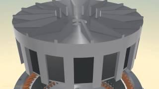 getlinkyoutube.com-Ротационный двигатель Зуева сборка