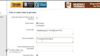 getlinkyoutube.com-Wordpress Sinhala tutorial - How to configure All in one SEO pack