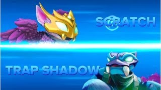 getlinkyoutube.com-Skylanders Swap Force PVP - Scratch VS Trap Shadow